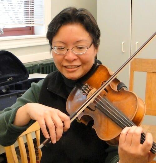 Orchestra Teacher, Phoebe Dong